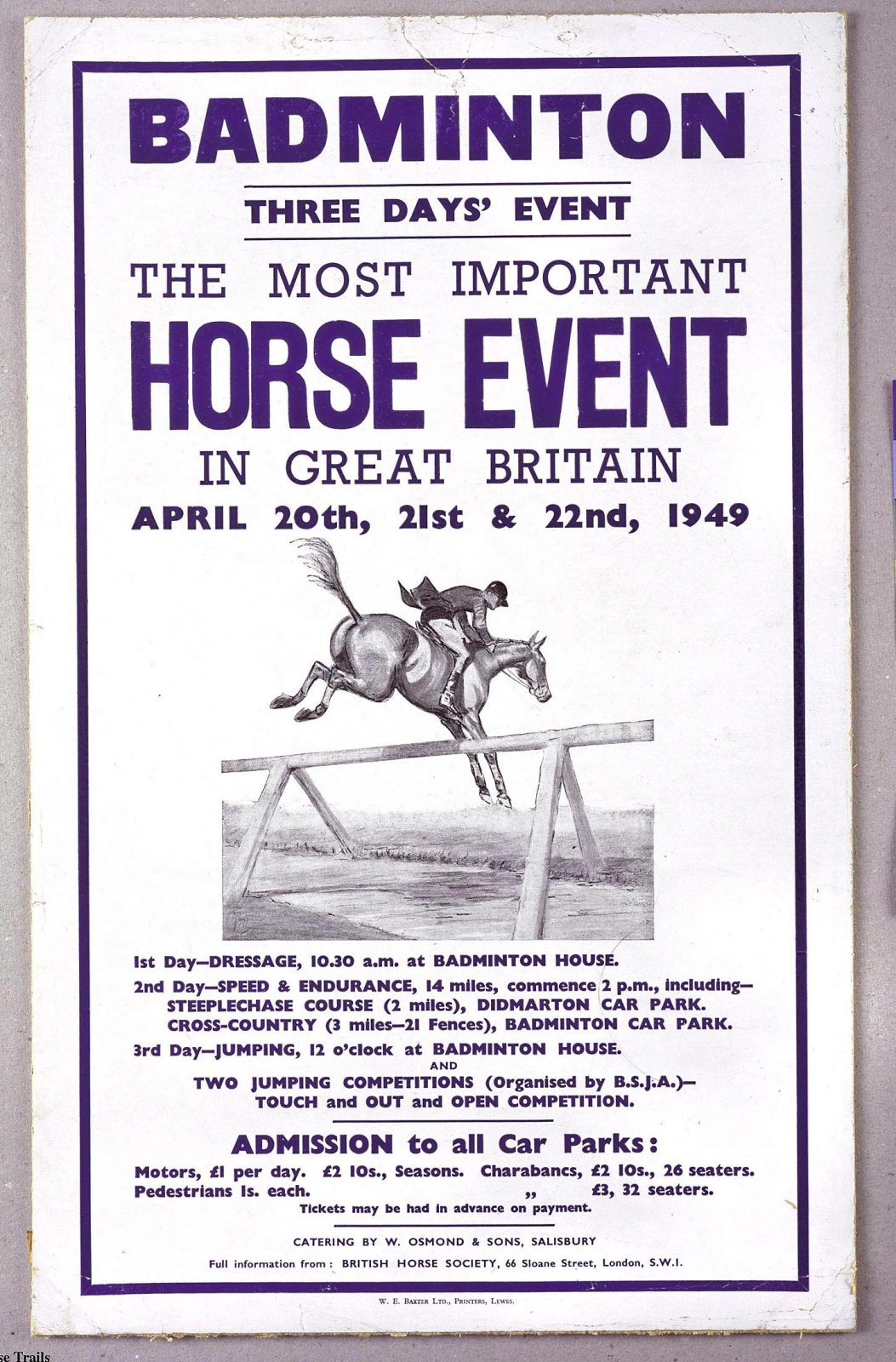 Badminton Horse Trials | History