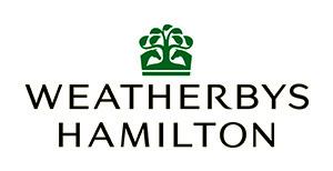 Weatherbys Hamilton logo