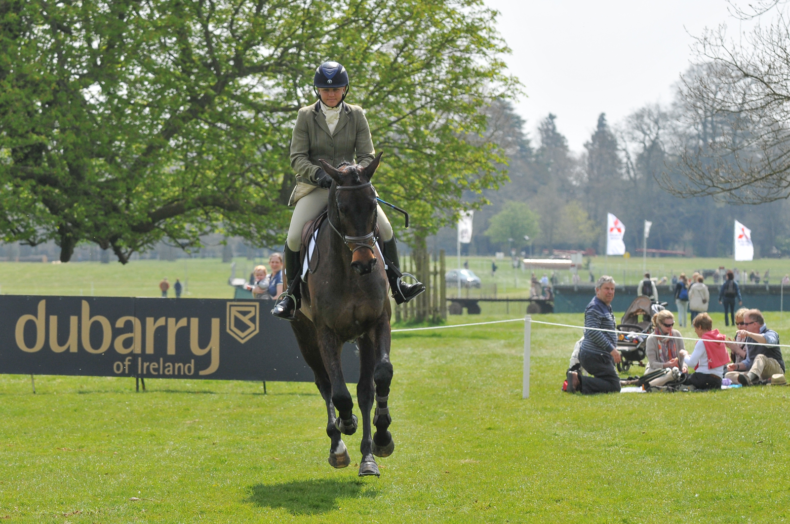 Dubarry Burghley Young Event Horse Timetable 2015