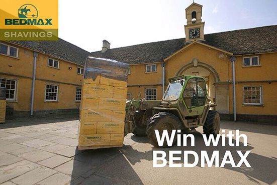 Win a BEDMAX Pallet of shavings
