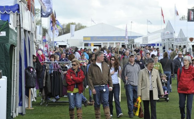 Trade Stands Badminton Horse Trials : Badminton horse trials plan your shopping trip at