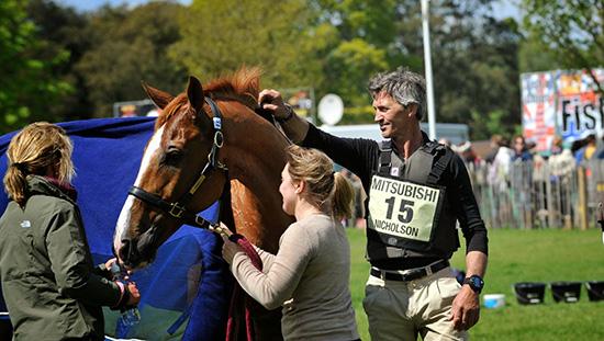 Badminton Horse Trials Andrew Nicholson Withdraws On Nereo