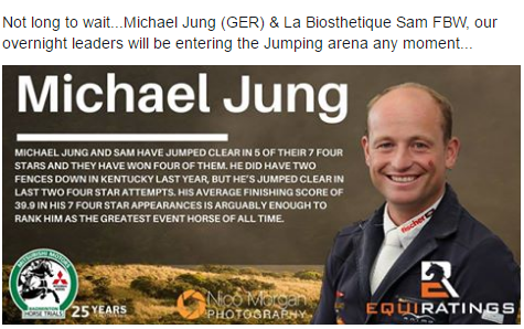 Michael Jung Facebook highlight
