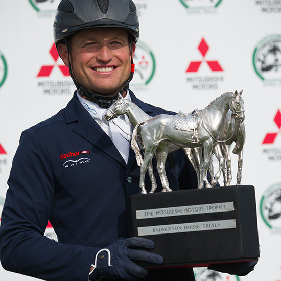 Michael Jung Badminton winner 2016