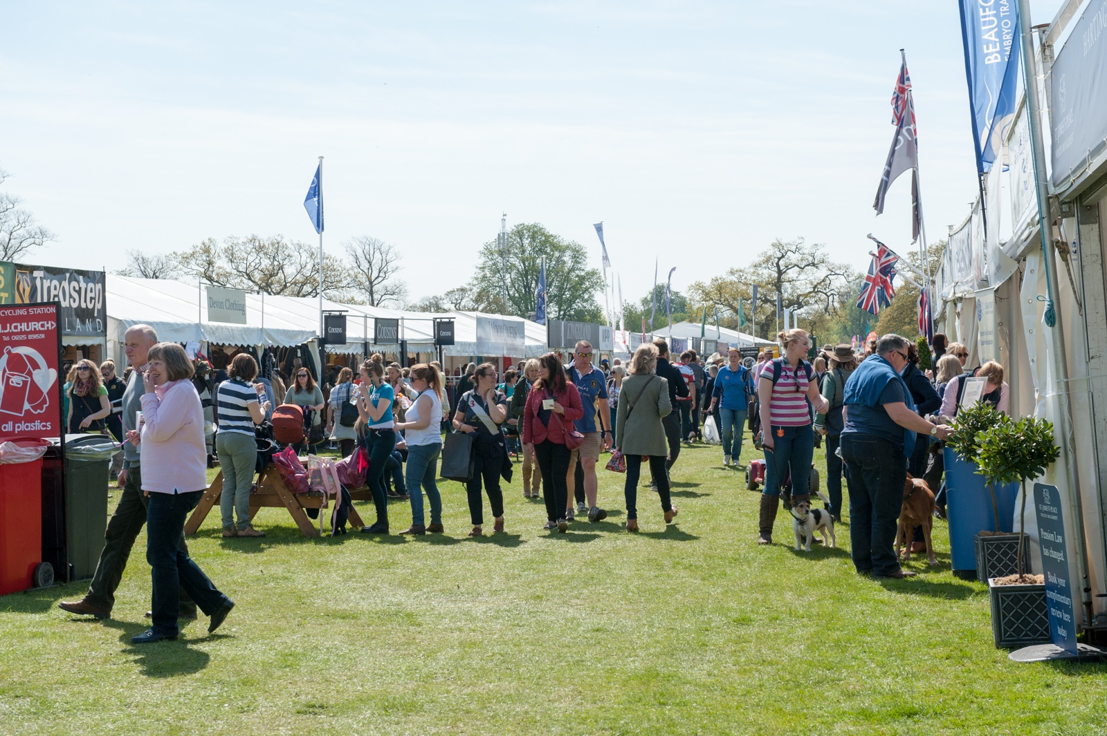 Trade Stands Badminton Horse Trials : Just a few of many reasons for you and your friends