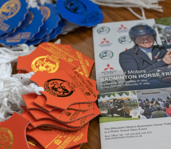 Badminton Horse Trials Admission Tickets