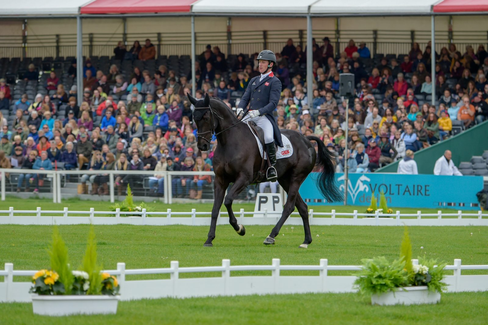 Badminton Horse Trials Highlights From Day One Of Dressage