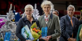 L'annee Hippique Awards Van der Net Inge, Mrs. Jane Tuckwell, Event Director Badminton Horse Trials CHI Genve 2019 © Hippo Foto - Dirk Caremans 14/12/2019